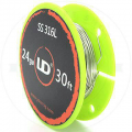 SS316L zica 0,5mm 24AWG - 1m